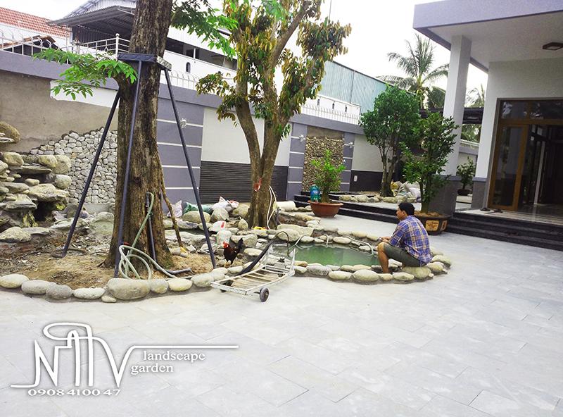 Công Trình Thi Công Sân Vườn tại Rạch Gía Kiên Giang
